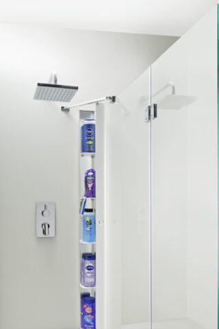 Folding shower & bath Screen