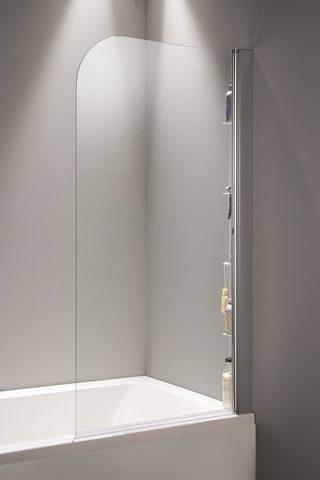 Straight Shower Bath Radius Top